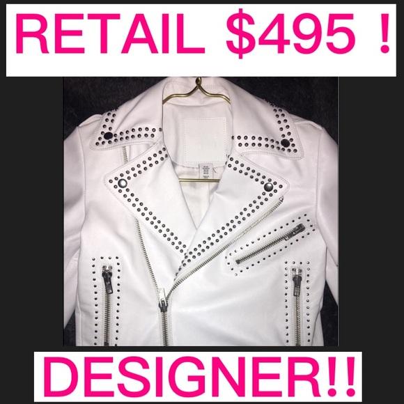 Jackets & Blazers - SALE🌺Leather Belle Verre xs NVR worn retail $495